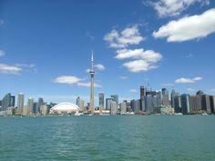 Skyline from the Harbor - Toronto, Ontario - Photo