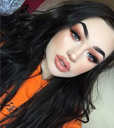 "22 mil curtidas, 193 comentários - Meg Feather (@megfeather) no Instagram: ""Orange kinda dayyy⚡️ ____________________________________________________…"""