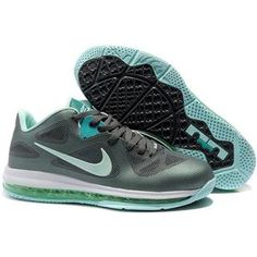 uk availability e7cc8 6623e Nike LeBron 9 Low Easter Dark-Grey Mint-Candy Cool Grey Green Sport
