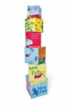Dr. Seuss One Fish Two Fish Red Fish Blue Fish Blocks