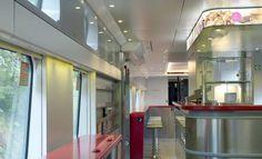 Interiørarkitekt Scenario interiørarkitekter MNIL - #Train #interior #Oslo - #NSB  www.scenario.no