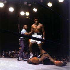 Muhammad Ali contra Sonny Liston