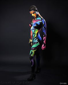 Body Painting Academy Final 2011/12 by Wei C