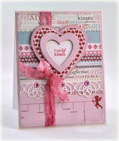 Beautiful card by Dennie Olson using Papertrey Ink products