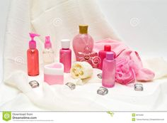 Pink Beauty Products - Download From Over 64 Million High Quality Stock Photos, Images, Vectors. Sign up for FREE today. Image: 8013469