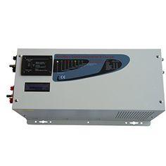 cool SUNGOLDPOWER NEU 3000W Spitzen 9000W Rein Sinus Wechselrichter Spannungswandler, Solar Wechselrichter DC 12V Auf AC 220V 230V 240V Inverter mit Ladegeräte 75amp LED & LCD Fernbedienung