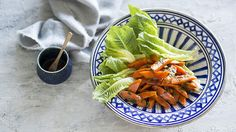 Glazed carrots salad
