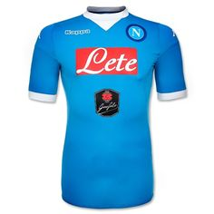 Napoli 2015/2016 Authentic Home Shirt - Available at uksoccershop.com
