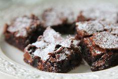 Kladdiga och krämiga brownies - Jennys Matblogg