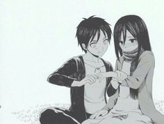 these are mini of eremika ( Eren x Mikasa ) that are with the attack … #fanfiction Fanfiction #amreading #books #wattpad