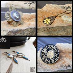 bijoux, bague, collier, boucles d'oreilles, l'Atelier de Margotte, Nantes, créatrice, bullelodie