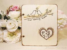 Wedding guest book idea. To see more: www.modwedding.com