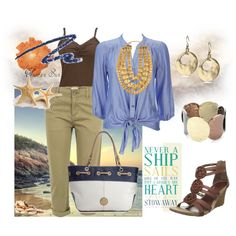 my heart is at sea, created by kathyborie7 on Polyvore