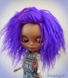 bLYTHE wig ..or  SD 10  by sleepingelf on Etsy, $27.00