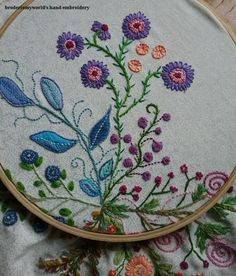 Oh the things we could do if we only believed in ourselves… Contemporary Embroidery, Modern Embroidery, Embroidery Art, Embroidery Designs, Sewing Stores, Hand Stitching, Fiber Art, Needlepoint, Sewing Crafts
