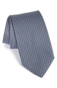 Salvatore Ferragamo GanciniPrint Silk Tie available at #Nordstrom