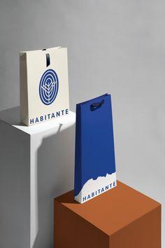 Habitante - Mindsparkle Mag - Chapter Branding Studio designed the branding for HABITANTE. The essence of the project is to give a multi-purpose development a sense of community. Collateral Design, Corporate Identity Design, Visual Identity, Identity Branding, Packaging Design, Branding Design, Logo Design, Design Color, Graphic Design