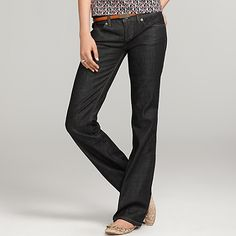 Classic Fit Bootcut Jean from Tommy Hilfiger.