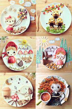Artfood: Samantha Lee et ses assiettes de super héros pour enfant !