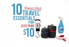 10 Travel Essentials That Cost Less Than $10