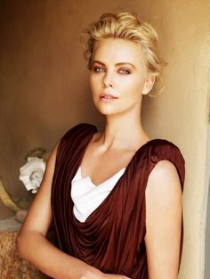 Charlize Theron -- Hair by Enzo Angileri for Cloutier Remix