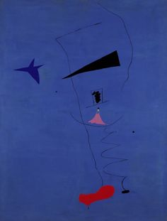 Painting (Blue Star) (French: Peinture (Etoile Bleue)) is a 1927 painting by the Catalan artist Joan Miró. Mark Rothko, Joan Miro Pinturas, Jean Miro, Joan Miro Paintings, Modern Art, Contemporary Art, Francis Picabia, Most Famous Paintings, Art Textile