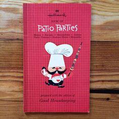 Vintage 1965 Hallmark Book of Patio Parties by BittenbenderAndMoll