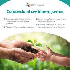 Sigue estos 4 #tips para fomentar el #CuidadoDelAmbiente en los #PrimerosAños #Naturaleza #CuidadoDelAgua #DíaInternacionalDelAgua #Ambiente #niños