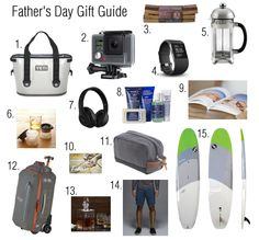 Father's Day Gift Guide / thesouthernstyleguide.com