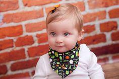 Baby Spooky Halloween Bib
