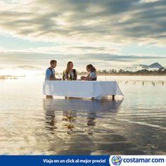 #CostamarTravel ¡Comida marina, vino, buena compañia y la tranquilidad del mar! Bahía de Coles #Australia www.costamar.com