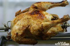 Recette de poulet à la broche (poulet rôti)