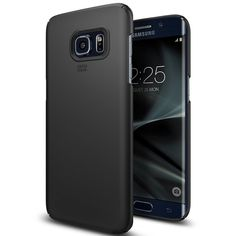 100% Original SGP Thin Fit Soft Finish Coating Ultra Slim Hard Cover Case for Samsung Galaxy S7/S7 Edge