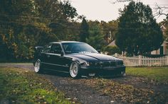 Download wallpaper bmw, e36, coupe, black, 3, series, bmw resolution 1680x1050