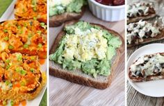 Lightning-fast snack: 12 best spreads, which are easy to satisfy your hunger! Mashed Avocado, Avocado Toast, Delicious Sandwiches, Piece Of Bread, Hummus, Food To Make, Boiled Eggs, Food And Drink, Healthy Recipes