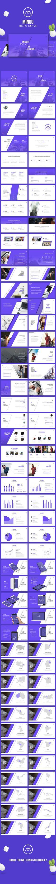 Minoo - Creative Powerpoint Template