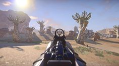 For a free to play game planetside 2 has amazing graphics. Made by sony the game is soon to be released on the playstation 4 but no way could it handle the amount of players the pc can. One battle on pc has roughly 1000 players in a war.
