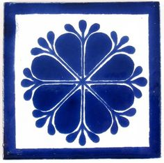 "Picture of Mexican Tile 4""  T4013"