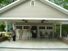The Country Diary of a Southern Lady: Container Gardens, Patio, and Carport (Part 2)