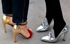 Add some shine to your shoes...#perfectpairs