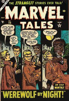 Atlas-era Marvel Tales - Werewolf By Night