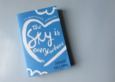 The Sky Is Everywhere, by Jandy Nelson The Sky Is Everywhere, Jandy Nelson, Pocket, Books, Libros, Book, Book Illustrations, Libri, Bag