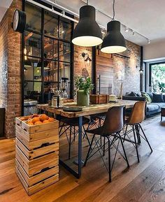 Você pode usar estilos mais descontraídos se gosta de um ambiente casual!!! #inspirationsstyle #inspiraçãododia #decor #decoraçaoindustrial #casual #industry #instadecor #instagood #wood - Architecture and Home Decor - Bedroom - Bathroom - Kitchen And Living Room Interior Design Decorating Ideas - #architecture #design #interiordesign #diy #homedesign #architect #architectural #homedecor #realestate #contemporaryart #inspiration #creative #decor #decoration