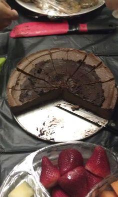 M & J: Paleo Chocolate Cheesecake