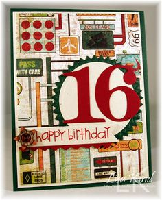 Kind Creations: Happy 16th Birthday!