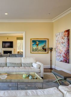 Superbe Mediterranean Bel Air Mansion With Modern And Antique Furniture And Modern  Art. Luxury California Home
