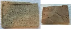 Neo-Babylonian cuneiform foundation brick, reign of Nebuchadnezzar II, 604-561 B.C. The inscription on this brick translates: 'Nebuchadnezzar, king of Babylon, who cares for Esagila and Ezida, eldest son of Nabopolassar, king of Babylon', on back sign of saw, 21,5x15x2,5 cm Private collection, from Artemission gallery From more info about this type https://web.stanford.edu/group/chr/cgi-bin/drupal/files/Market%20in%20Iraqi%20antiquities%20(2008)%20txt.pdf