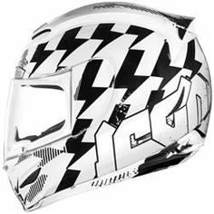 Icon Airmada Stack Motorcycle Helmet ON SALE $129.95
