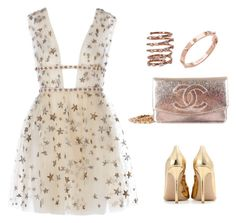 """""""Eimhear93 on Polyvore"""" by eimhear93 on Polyvore featuring Gianvito Rossi, Chanel, Plukka and CC SKYE"""