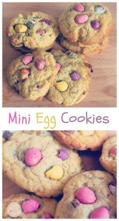 mini egg cookies easter baking idea kids can make Easter Cupcakes, Easter Cookies, Baking Cupcakes, Easter Treats, Baking Cookies, Baking Recipes For Kids, Baking With Kids, Easter Recipes, Easter Baking Ideas